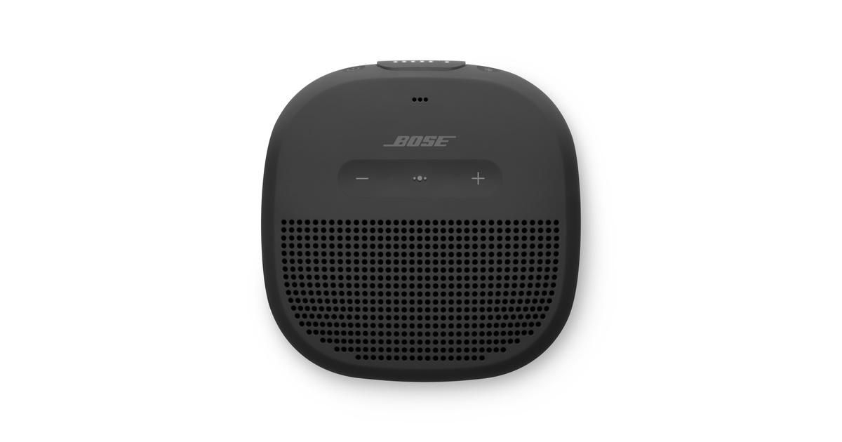 bose soundlink micro bluetooth lautsprecher schwarz