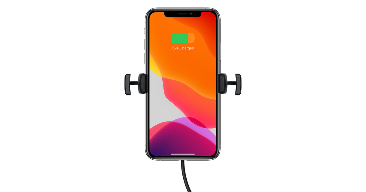 the best attitude 8c59f ab4c6 mophie wireless charging vent mount