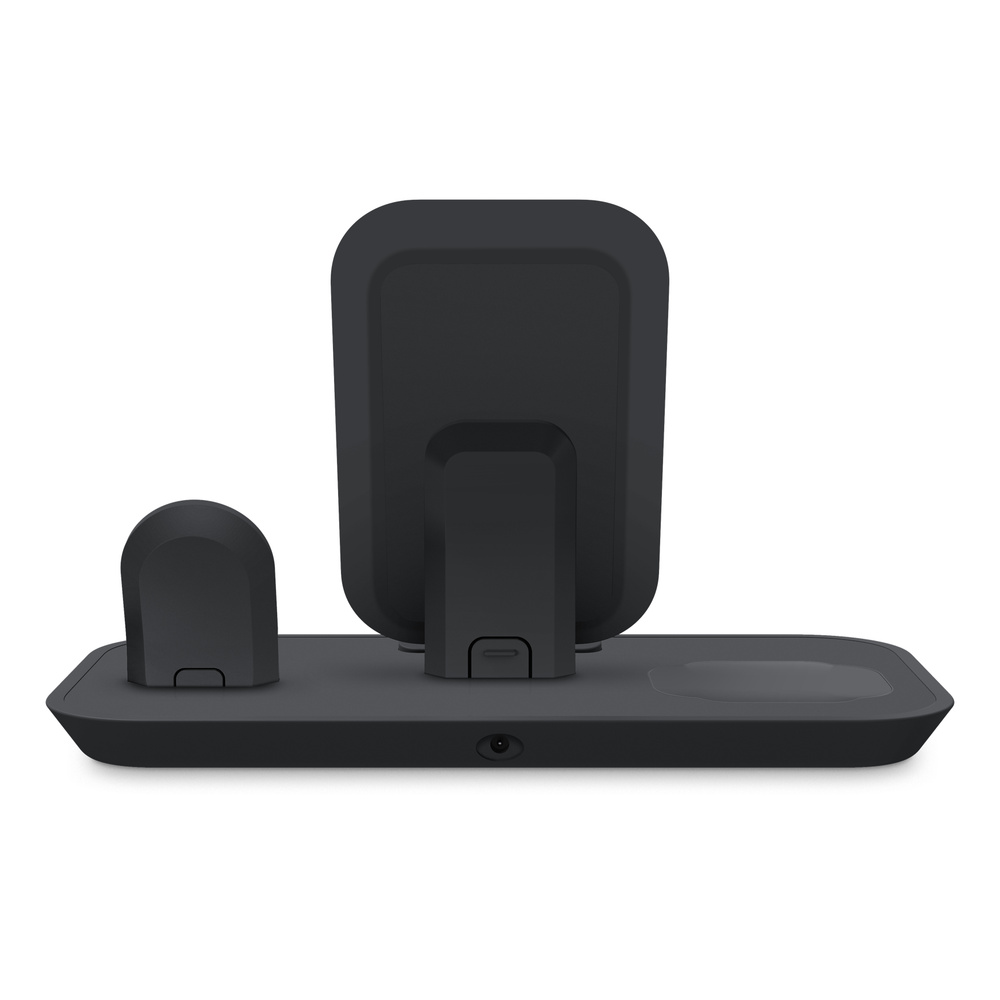 Mophie 3 In 1 Wireless Charging Stand Black Apple Mophie wireless qi charging base for iphone x/xs/8 plus samsung galaxy s9 s10. mophie 3 in 1 wireless charging stand