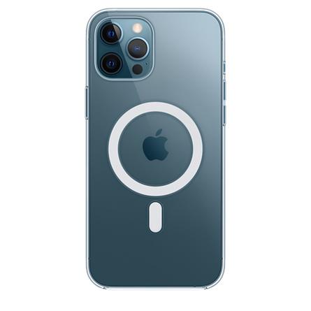 Coque transparente avec MagSafe pour iPhone12Pro Max