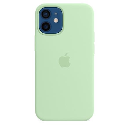 Custodia MagSafe in silicone per iPhone 12 mini - Pistacchio