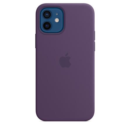 Étui en silicone avec MagSafe pour iPhone 12 | 12 Pro - Améthyste