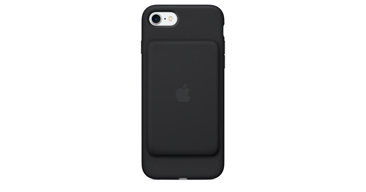 the best attitude dc97f a389d iPhone 7 Smart Battery Case - Black