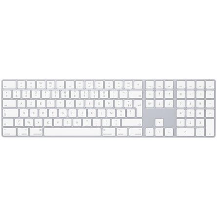 Magic Keyboard avec pavé numérique Français Argent