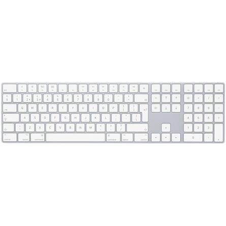Magic Keyboard met numeriek toetsenblok Nederlands Zilver