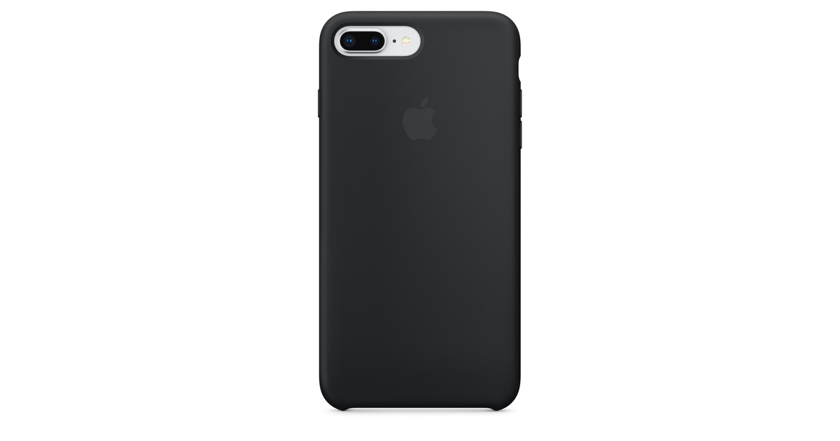 9ad98c1eef4340 iPhone 8 Plus / 7 Plus Silicone Case - Black - Apple