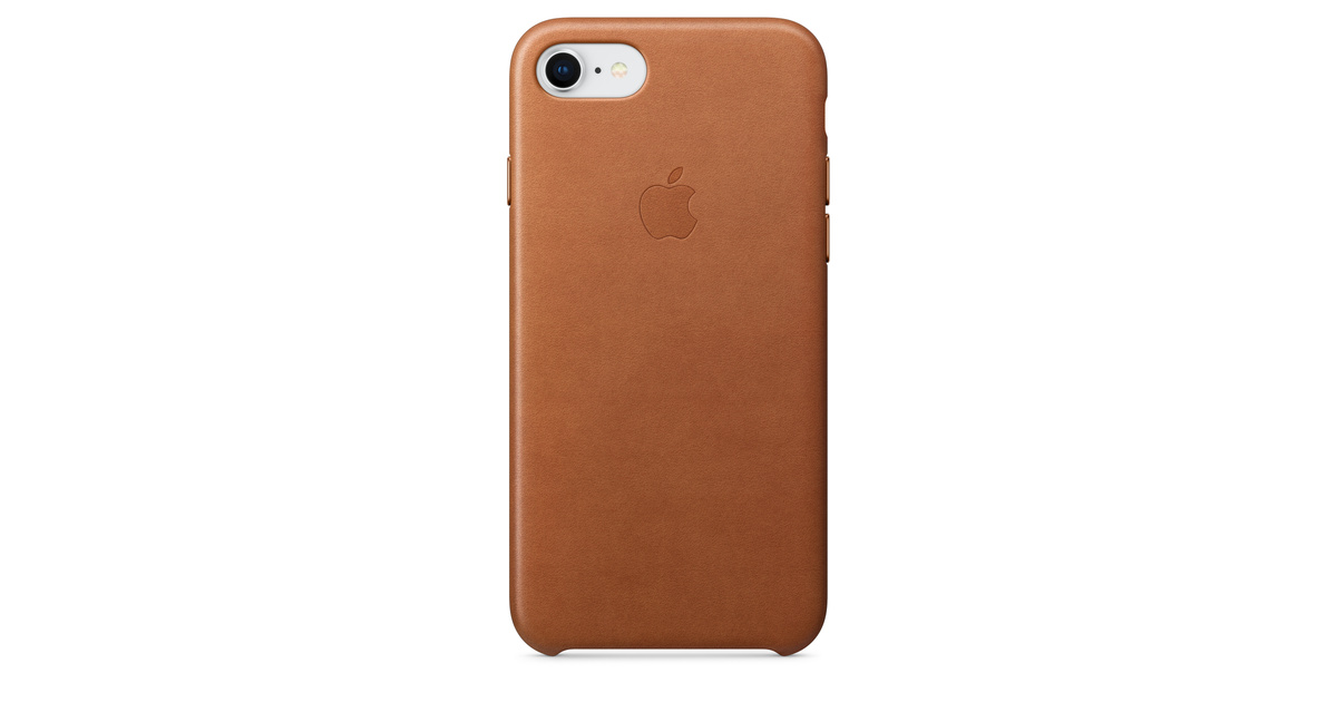 sports shoes 68bd8 c5a01 iPhone 8 / 7 Leather Case - Saddle Brown