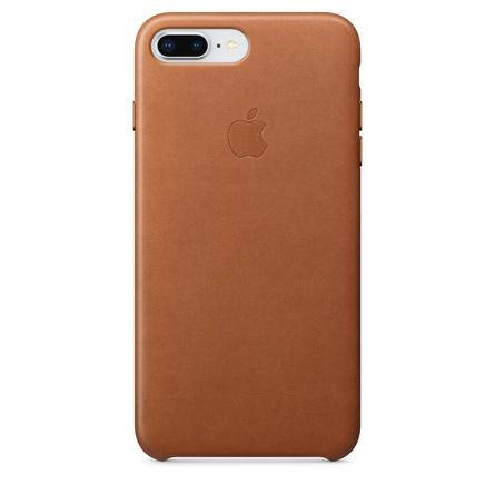 Custodia in pelle per iPhone 8 Plus / 7 Plus - Cuoio