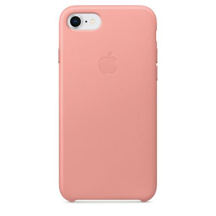 Custodia in pelle per iPhone 8 / 7 - Rosa cipria