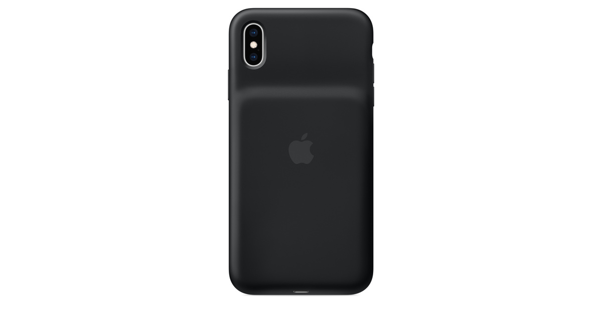 timeless design a6099 ddb25 iPhone XS Max Smart Battery Case - Black