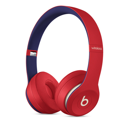 Beats Solo3 Wireless Headphones Beats Club Collection Club Red