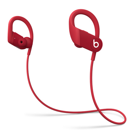 Powerbeats High Performance Wireless Earphones Red