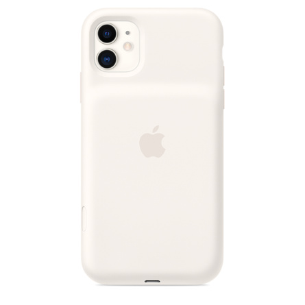 Étui Smart Battery Case pour iPhone 11 - Blanc crème