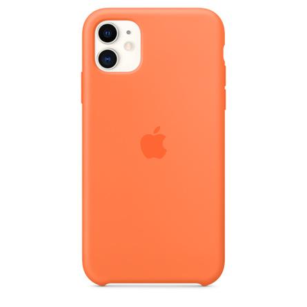 Custodia in silicone per iPhone 11 - Vitamina C