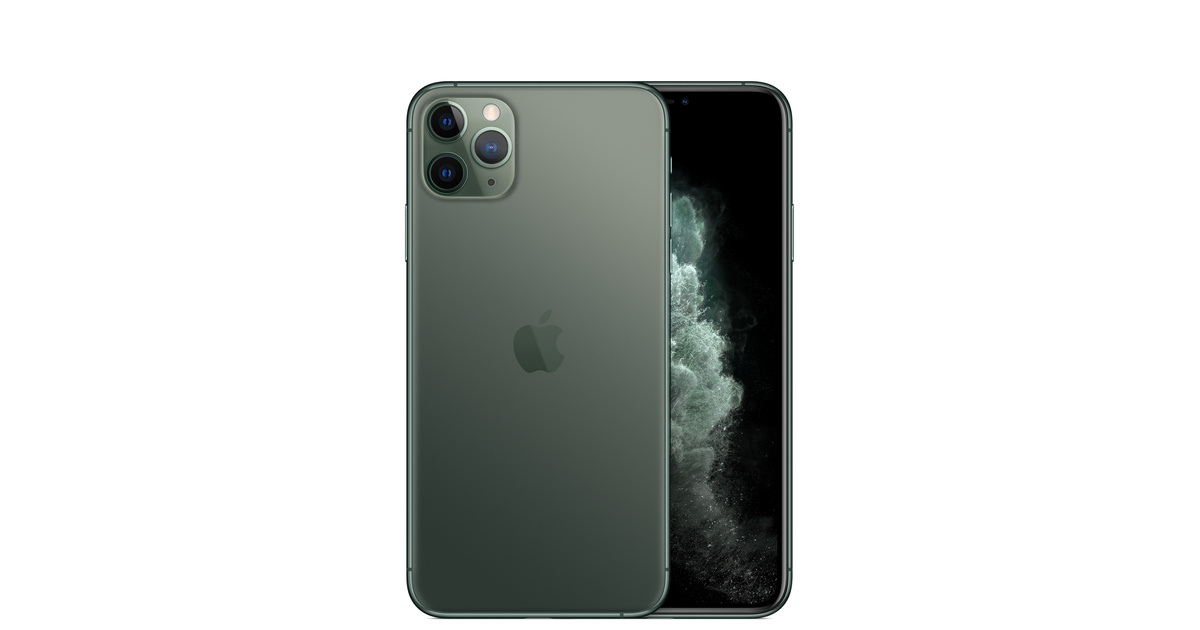 iphone 11 pro max 512gb midnight green apple. Black Bedroom Furniture Sets. Home Design Ideas